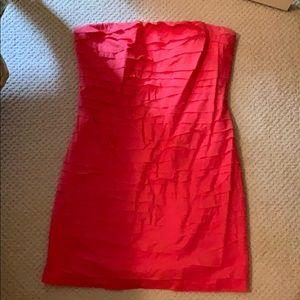 Fun strapless party dress